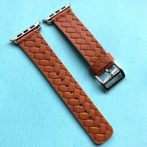 Apple Watch Band 42/44mm - Carmel Brown Leather